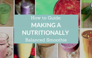 balanced smoothie guide