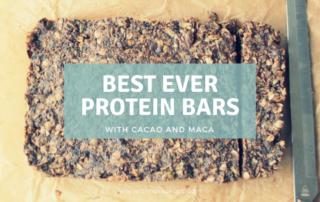 best homemade protein bars