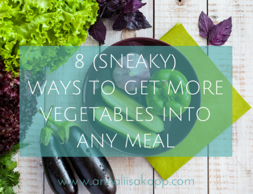 8 (Sneaky) Ways to Add More Vegetables to Any Meal