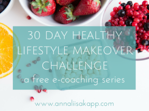 30 DAY HEALTHY LIFESTYLE MAKEOVER