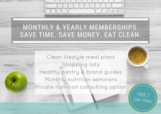 Meal planning service membership