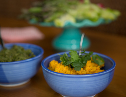 Spiced Carrot and Cashew Dip