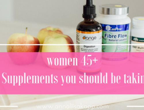 3 Supplements You Should be Taking if You're Over 45 Years Old