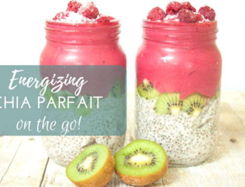 Energizing Chia Parfait Breakfast on the Go
