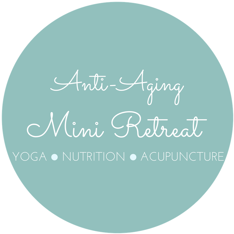 Anti-aging yoga, nutrition and acupuncture mini retreat
