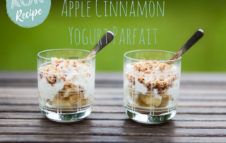 apple cinnamon yogurt parfait (dairy free)