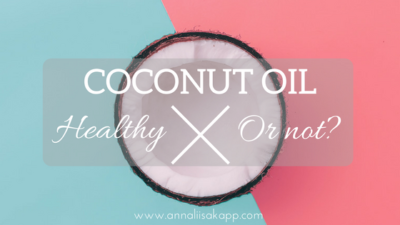 coconut oil good or bad