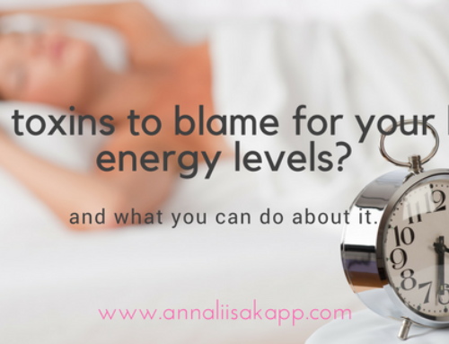 Are Toxins to Blame for Your Low Energy Levels?