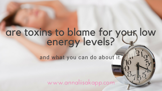 DO TOXINS DEPLETE ENERGY