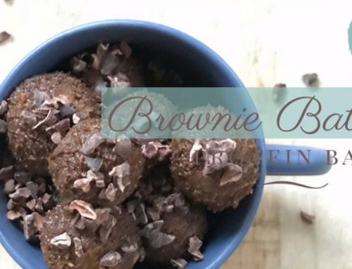 Elevated Brownie Batter Protein Balls