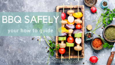 how to bbq safely