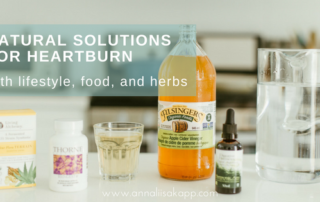 natural solutions for heartburn