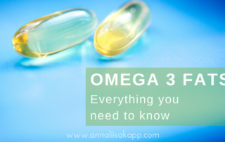 what to know about omega 3 fats