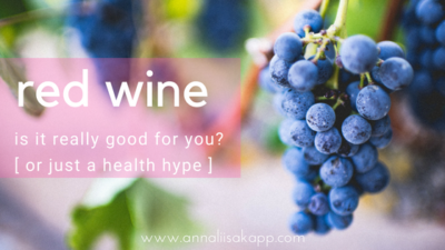 is red wine healthy for you