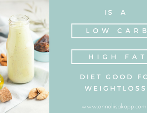 Do low carb, high fat diets support weight loss?