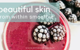 beautiful skin smoothie