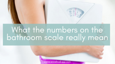 what the numbers on the scale really mean
