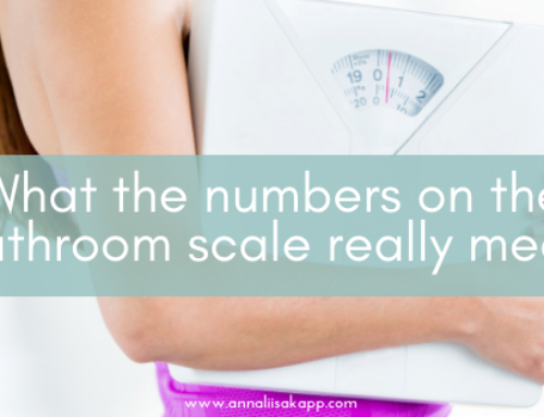 What the Numbers on the Bathroom Scale Really Mean