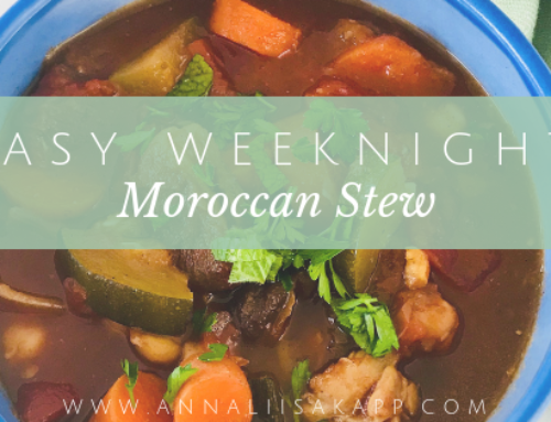 Easy Weeknight Moroccan Stew