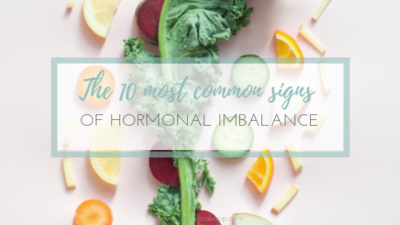 COMMON SIGNS OF HORMONAL IMBALANCE