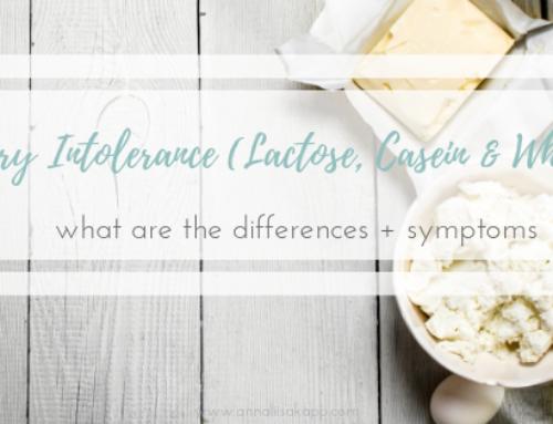 Dairy Intolerance (Lactose, Casein & Whey)