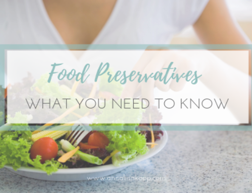 Food Preservatives – What You Need to Know